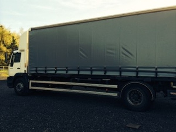 MAN Day Cab Curtain side Lorry for sale