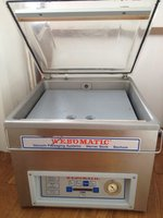 Webomatic table top vac packer