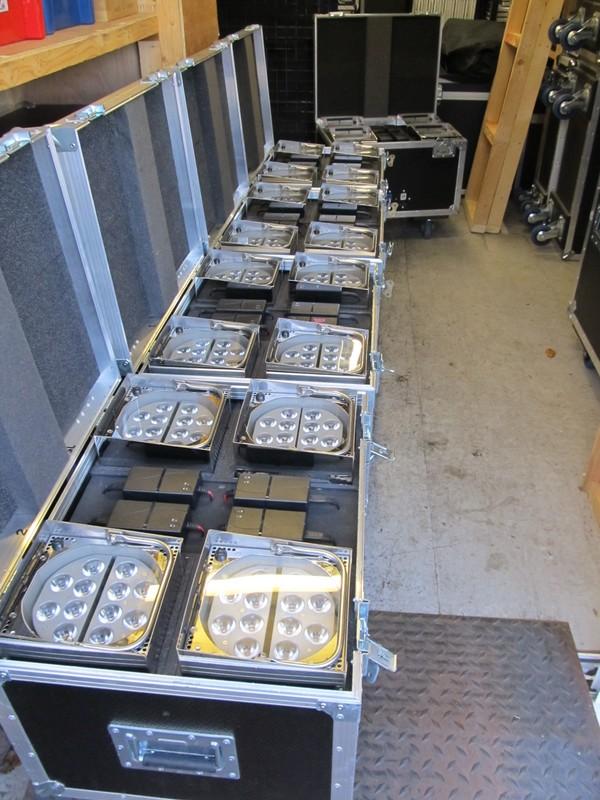 20 Showtec Eventspot 1900 Mk 1 Battery/ Wireless Up-Lighters