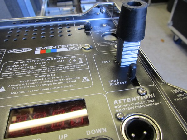 Buy 20 used Showtec Eventspot 1900 Mk 1 Battery/ Wireless Up-Lighters