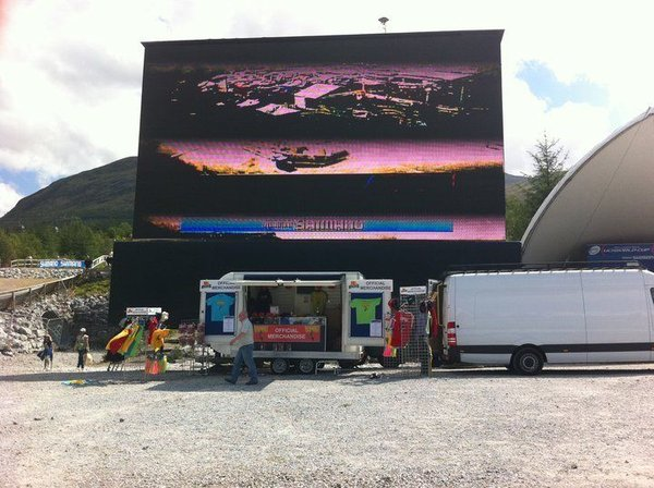 Lovely Used Merchandise Or Exhibition Trailer