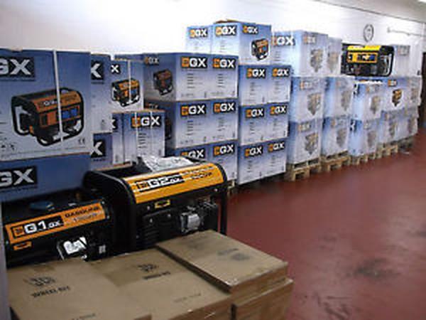 JCB G3GX petrol generator