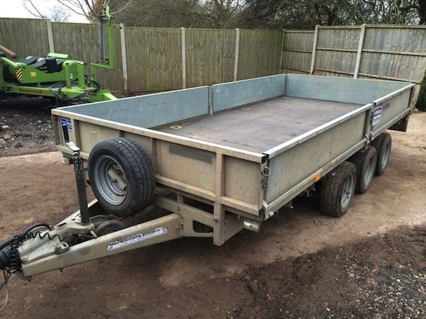 Ifor Williams LM146G - 14ft Tri Axle Trailer