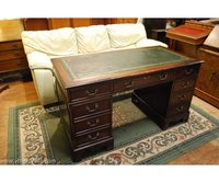 Edwardian Pedestal writing desk