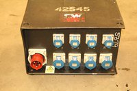 CW Instant Power 3 Phase Power Distribution Distro Box