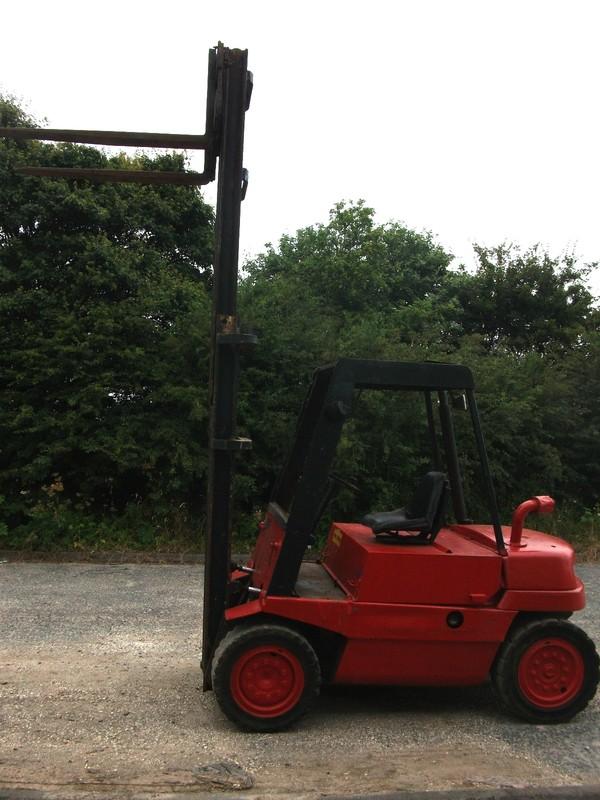 Linde H35D Diesel fork lift