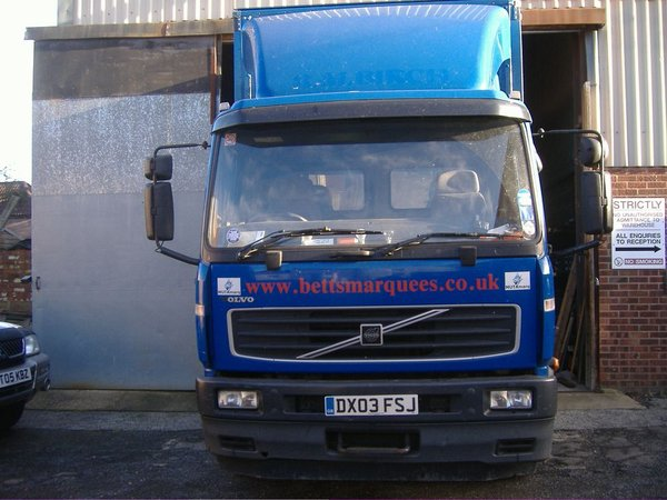 Volvo Curtainside Lorry