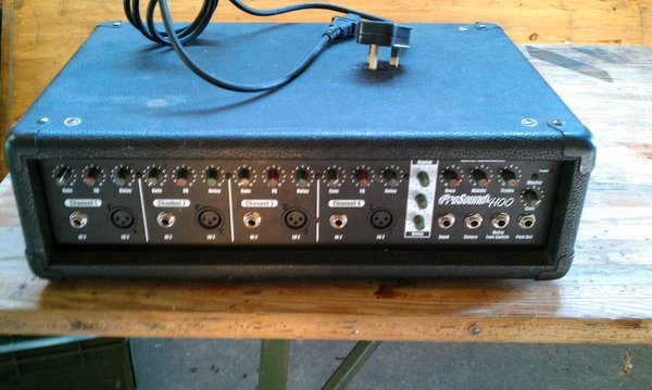 Buy Used Pro Sound 4100 Amp / Equaliser