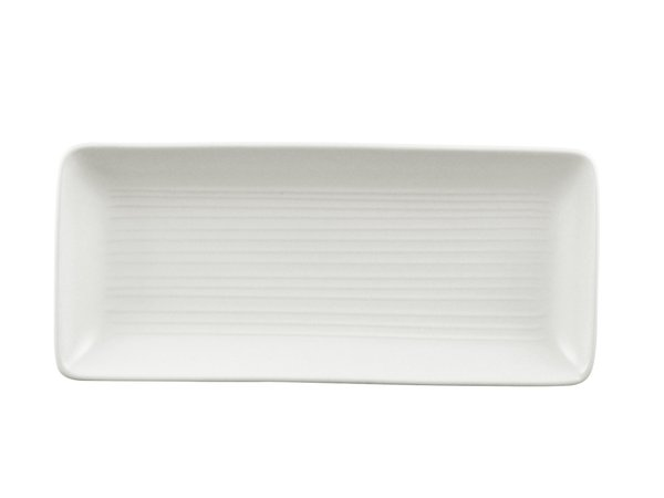 rectangle tray 14'' x 6.5'' (955R) pearl