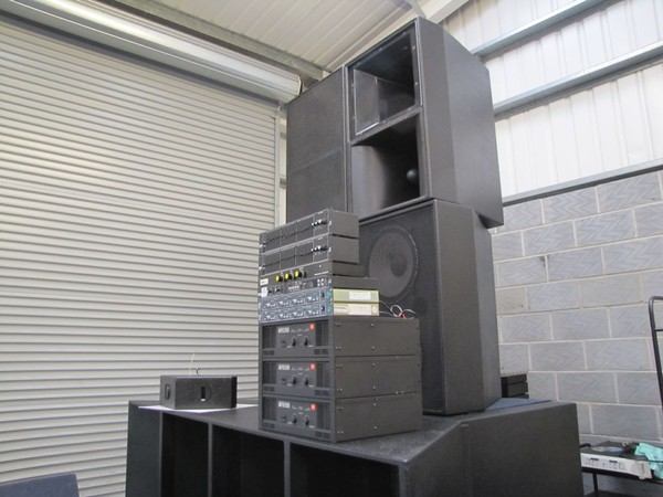 Phazon 4 Stack Pa System Complete