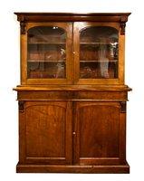 Victorian Bookcase in Walnut c.1880