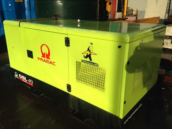 Pramac 25Kva (Standby) 23Kva Prime Rated Single Phase Generator