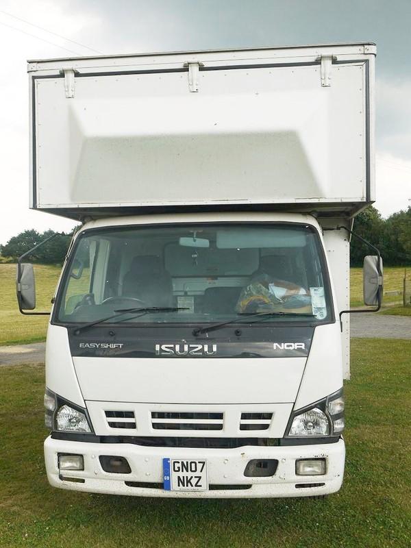 Isuzu NQR-70 7.5Tonne Box Van with Tail-lift