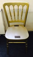 244 x Cheltenham Gilt Banqueting Chairs