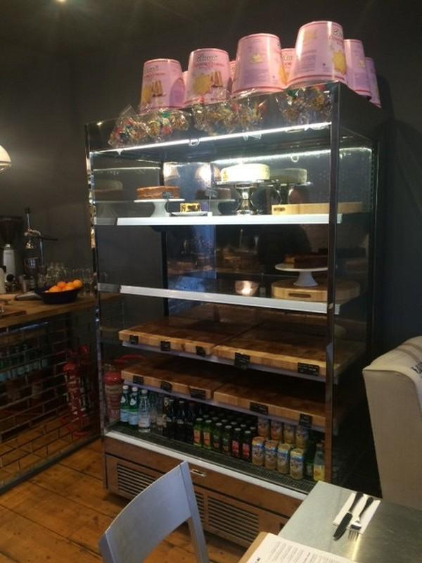 Secondhand Multideck display fridge