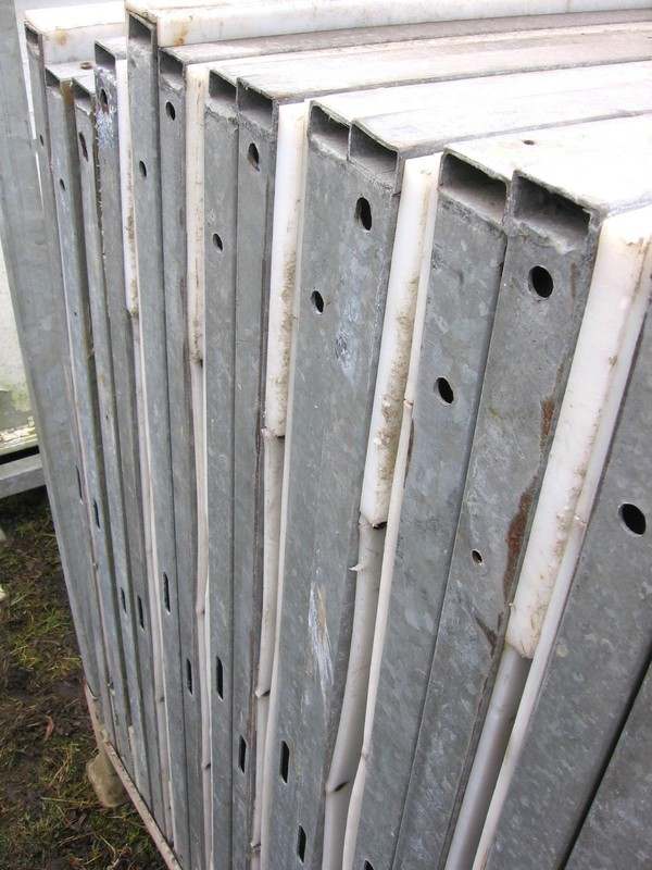 temporary ice rink panels.