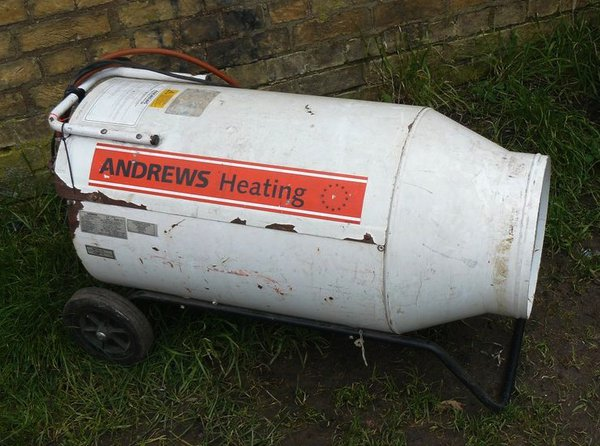Andrews Heating  Gas Heater