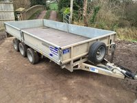 Ifor Williams LM dropside trailer