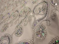 Silver Embroided Backdrops