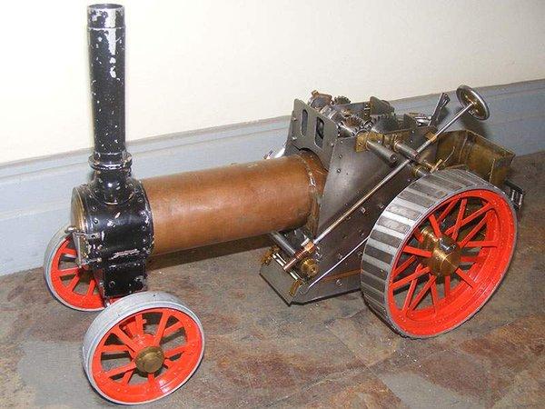 Tractor 5 inch steam engine