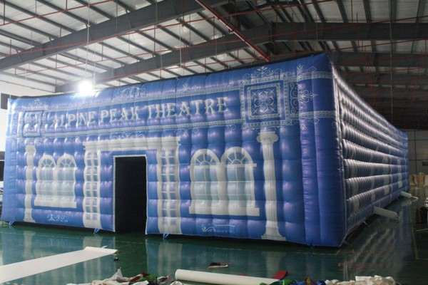 Blue Inflatable Marquee