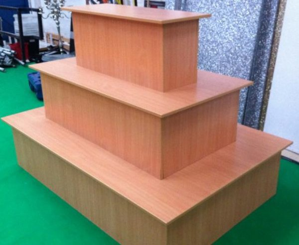 3 Tier Shop Display Counter