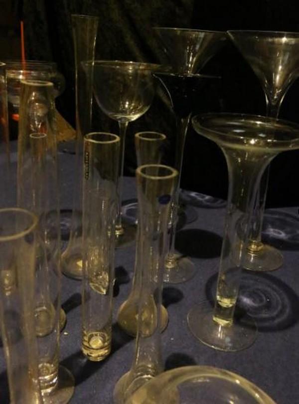 Table decor glass wear
