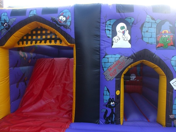 Dracula Bouncy Castle