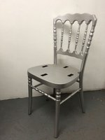 Silver Napoleon banqueting chairs
