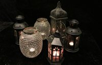 Collection of candle Lanterns .