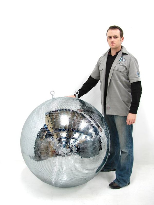 8x 1000mm Mirror Balls