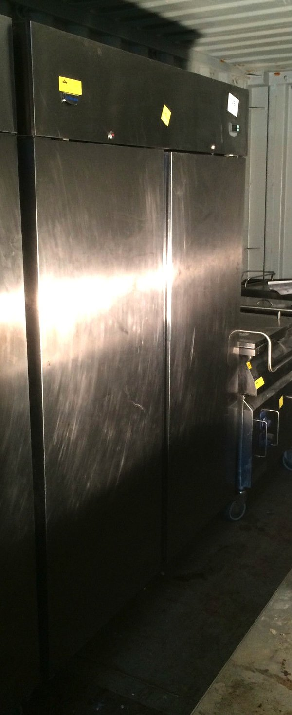 Electrolux Double Upright Stainless Steel Fridge