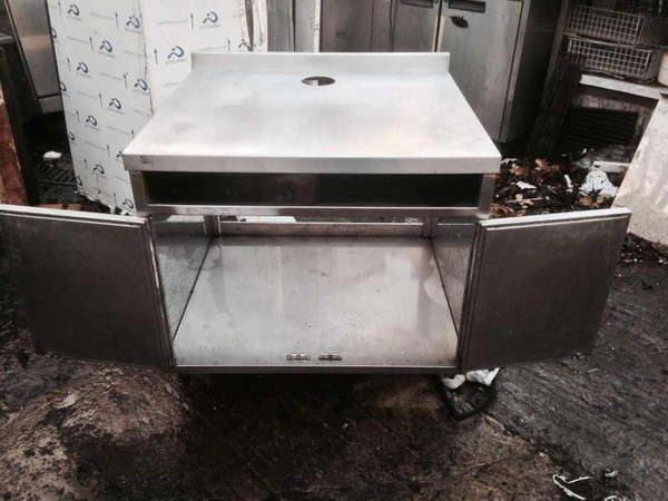 stainless steel stand cupboard