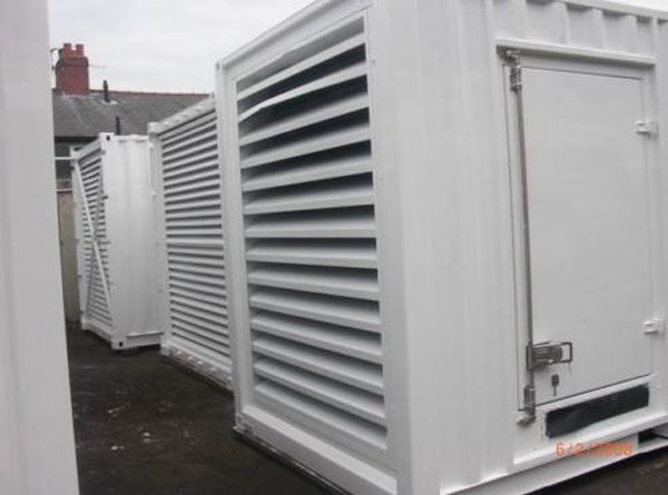 Container mounted Generators
