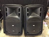 2x RCF ART525a Active Speakers