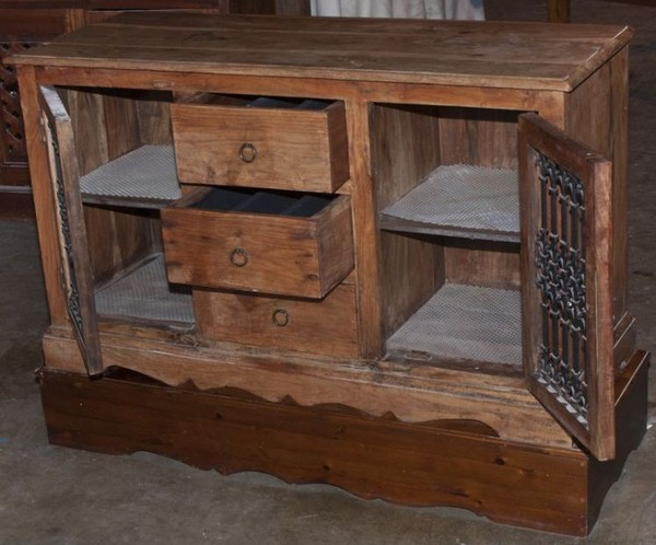 Antique Solid Wood Cabinet for sale