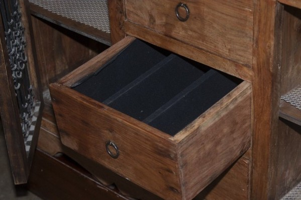 Antique Solid Wood Cabinet with drawers