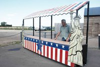 American food stall for sale