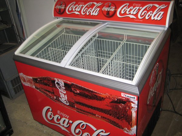 Coke Branded Chest Bottle Chiller