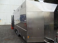 Stainless steel catering trailer for sale