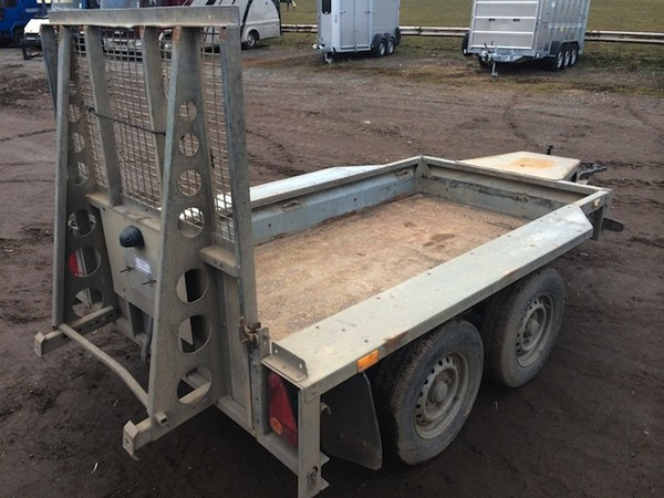Buy Ifor Williams GX84- 8+4ft Twin Axle Trailer