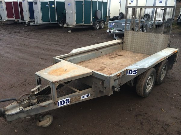 Ifor Williams GX84- 8+4ft Twin Axle Trailer