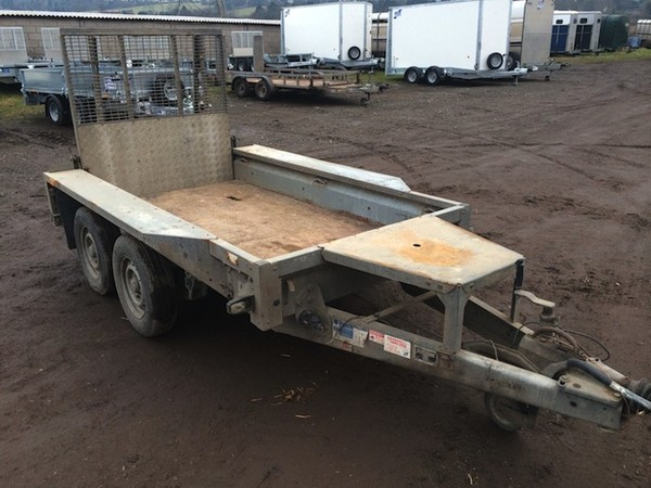 Ifor Williams GX84- 8+4ft Twin Axle Trailer for sale