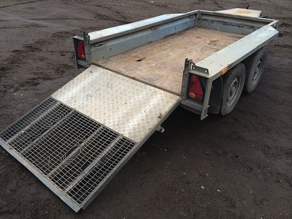 Ifor Williams GX84 Twin Axle Trailer