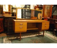 Schreiber Teak Dressing Table with Mirror