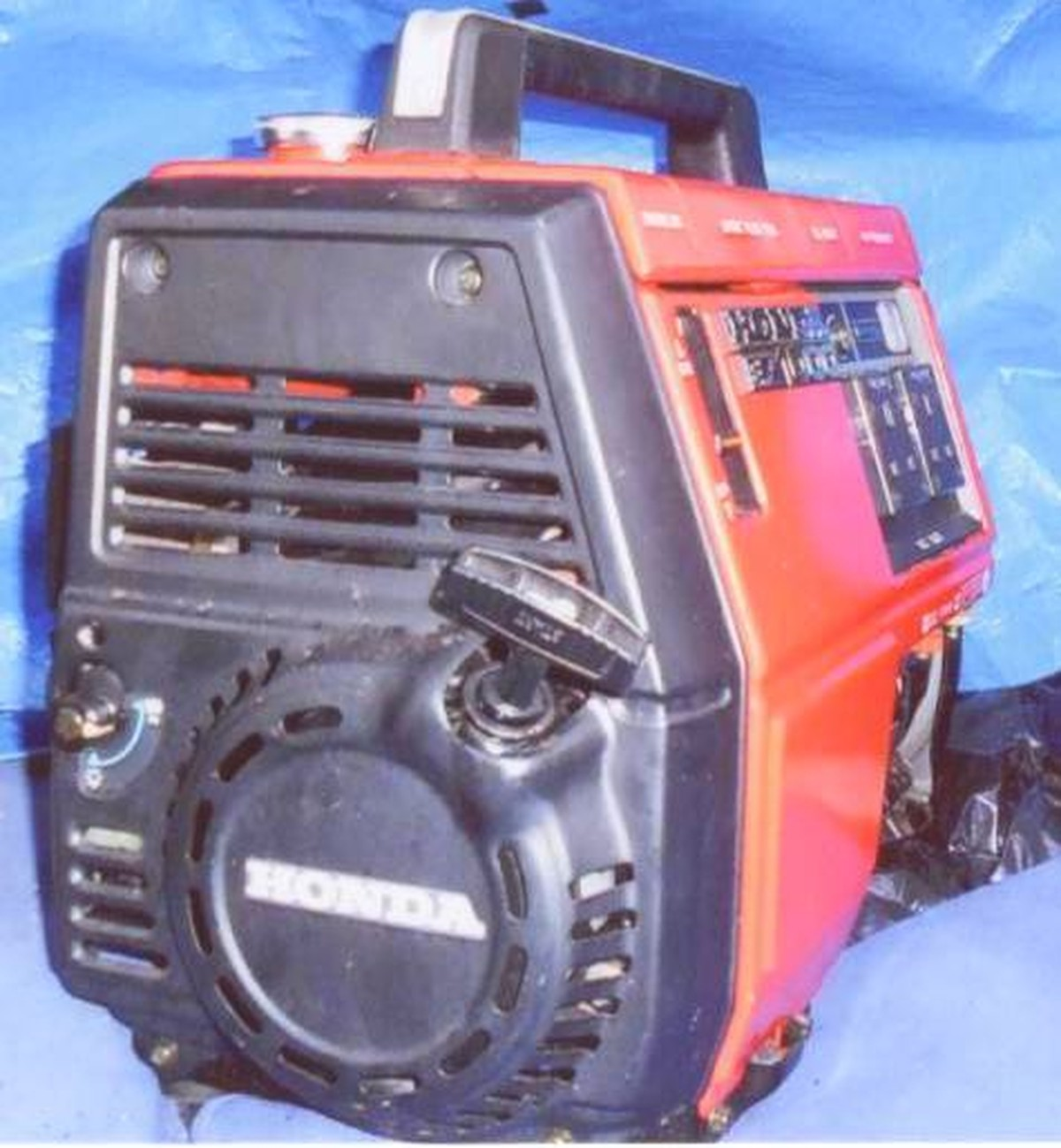 Honda EX1000 Petrol Generator Second hand Honda EX1000 Honda EX1000