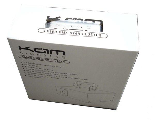 KAM Star Cluster Laser