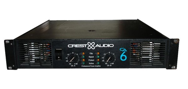 Crest Audio CA6 Amplifier