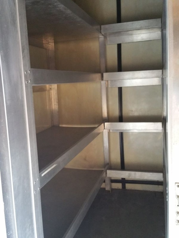 fridge and freezer lorry shelving