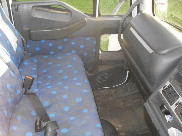 Iveco Eurocargo with passenger seats